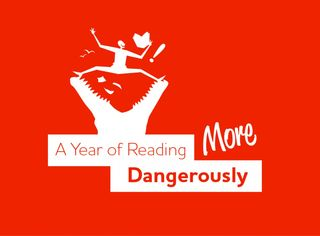 Year of reading dangerously logo
